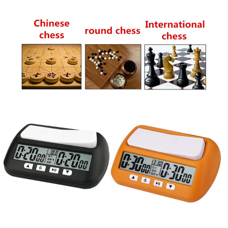 Buy Professional Chess Clock Digital Watch Count Up Down Timer Board Game Stopwatch Online In Mauritius 4000562588244