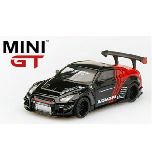 TSM Model Mini-GT 2020 Japan Exclusive RHD PANDEM Metallic Blue NISSAN GT-R R35