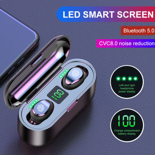 Bluetooth 5 0 Headset Tws Wireless Earphones Mini Stereo Headphones Earbuds 2019 Buy Products Online With Ubuy Mauritius In Affordable Prices 163901664522