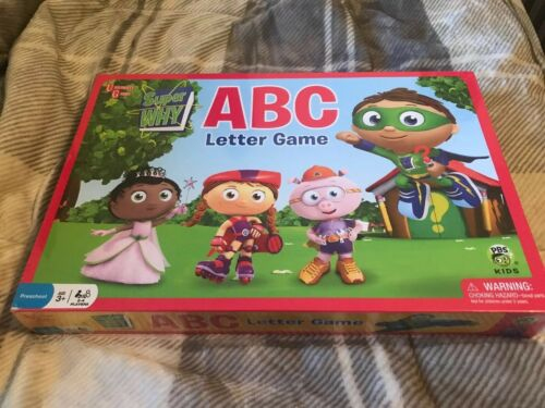 Super Why Abc Letter Board Game Buy Products Online With Ubuy Mauritius In Affordable Prices 254149374208