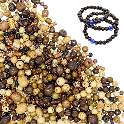 Night Field Wooden Bead Wooden Materials Beads for Jewelry Making DIY Jewelry