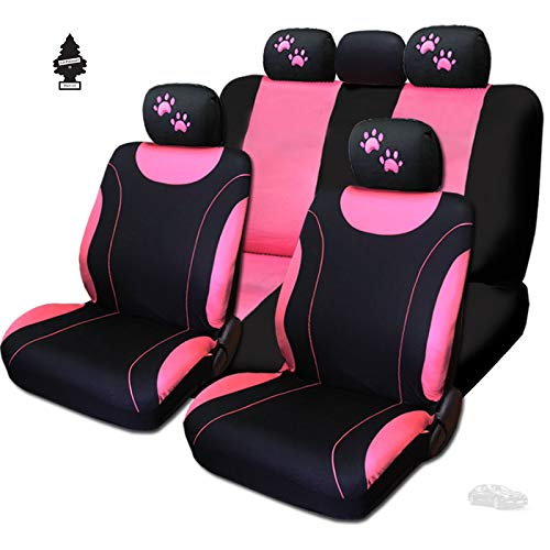 For Toyota New Pair of Live Laugh Love Car Truck Seat Headrest Covers