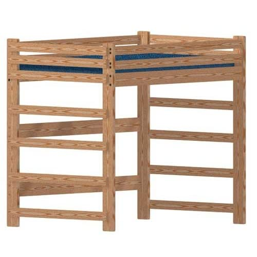 Buy Bunk Beds Unlimited Loft Bed Diy Woodworking Plan To Build Your Own Full Size Extra Tall Loft And Hardware Kit Wood Not Included Online In Mauritius B006gqoz4e