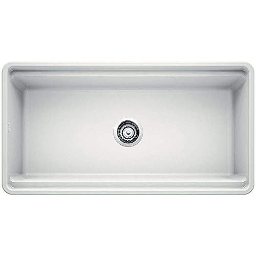 Blanco 523026 Profina Fireclay 36 Apron Front Farmhouse Kitchen Sink With Cutting Board White Buy Products Online With Ubuy Mauritius In Affordable Prices B07rdm1q33
