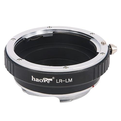 M-E M9 M2 M-P M6 M5 M240P Haoge Lens Mount Adapter for Leica R LR Mount Lens to Leica M LM Mount Camera Such as M240 M Monochrom M-A M4 M MP M3 M262 M10 M7 M8 M1 M9-P