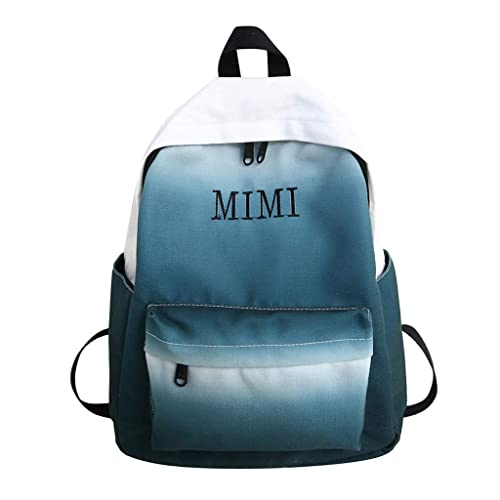YEZIJIN Student Bag New Men And Women Students Backpack Large Capacity Bag Travel Bag for Girls Kids Boys Women