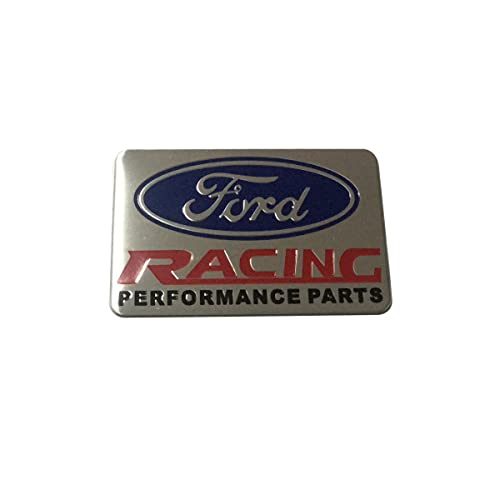 1pcs Car Styling Accessories Ford ST RACING Emblem Badge Decal Sticker Fit For Ford Car Lover