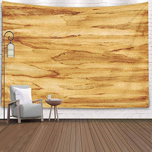 Buy Emmteey Tapestry Wall Hanging Tapestries Decor Living Room Bedroom For Watercolor Wood Texture Wooden Background Painting Paper Home Inhouse By Printed 60x50 Inches For Online In Mauritius B083fb813r