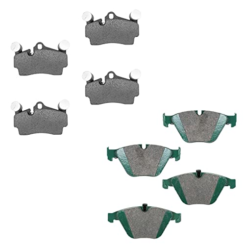 Posi Ceramic Disc Brake Pad Front /& Rear Kit for BMW 5 6 7 Series New