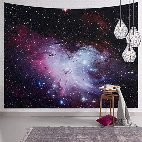 Buy Senyyi Galaxy Stars Tapestry Wall Hanging Outer Space Tapestry Colorful Nebula Tapestry Night Sky Home Decor For Room 70 9 X 92 5 Inches Online In Mauritius B088pgzgk2