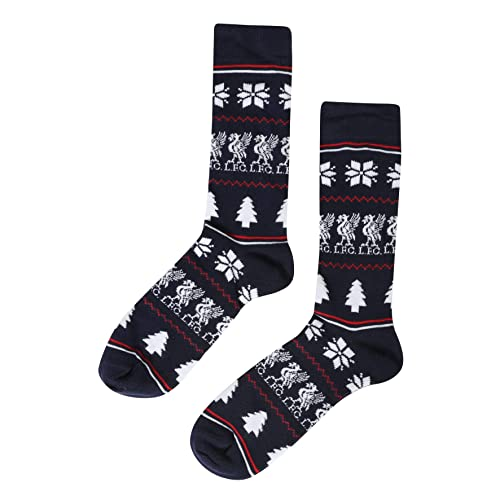 Official Liverpool FC Football Crest Socks Adults
