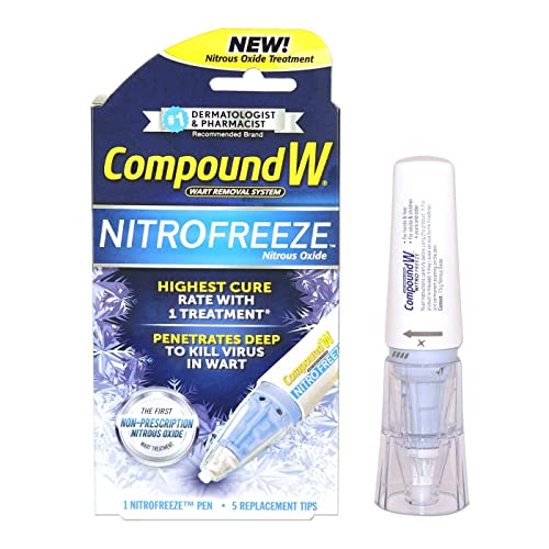 Compound W Nitrofreeze Wart Removal 1 Pen 5 Replaceable Tips Buy Products Online With Ubuy Mauritius In Affordable Prices B07vkpxgtr