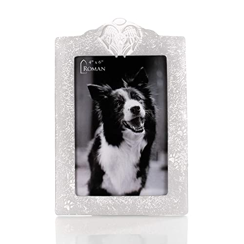 Buy Pet Memorial Angel Pewter Grey 8 X 5 Resin Stone Wall And Tabletop Frame Online In Mauritius B07pz256h8