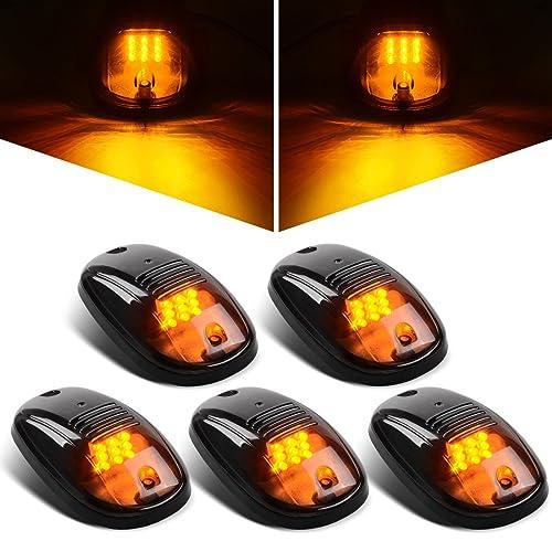 XXZ 4 pcs LED Side Led Marker Trailer marker lights for trucks Marker light amber Rear side marker light Truck cab marker lights RV marker light Yellow