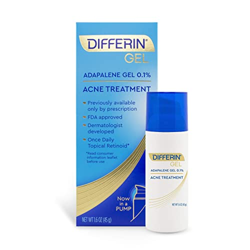 Differin Adapalene Gel 0 1 Acne Treatment 45g 90 Day Supply