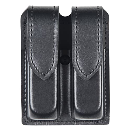 Safariland Hidden Snap Double Handgun Magazine Pouch Plain for Glock 17