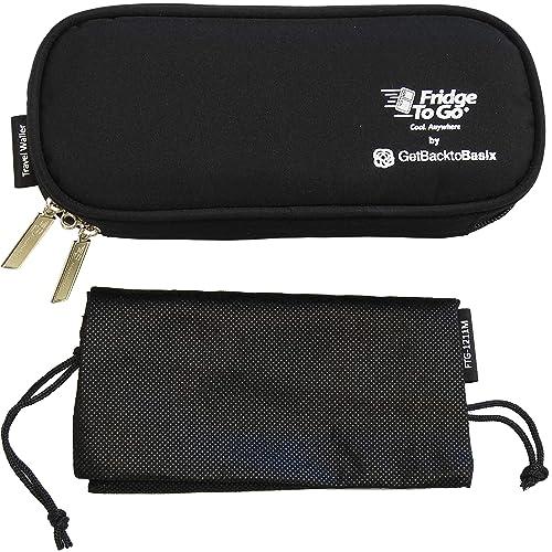 Black Cats Diabetic Supply Bag Travel Medical Bag EpiPen Pouch EpiPen Case Insulin Pen Case