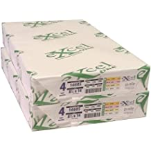 Three Excel One Carbonless 3-Part Reverse Paper Reams 501 Sets - 167 Sets Per Ream 3 11 x 17 Pink//Canary//White 231585