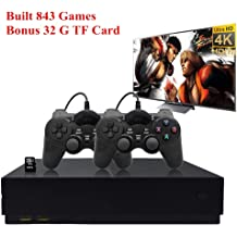 Oriflame Classic Game Console Built-in 621 Game in TF Card Video Game Console Handheld Game Player Console for Family TV HDMI HD us35 with 2 Joysticks